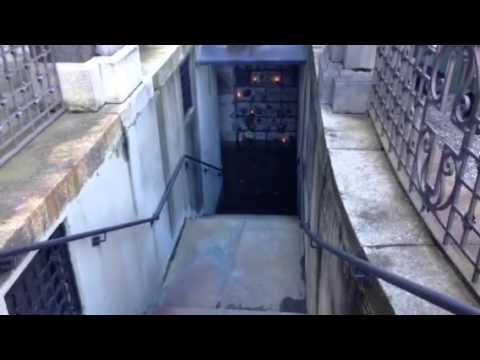 Cimitero di Giubiano, la zona dei colombari esterni