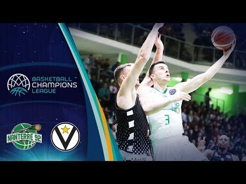 Virtus, gli highlights del match contro il Nanterre 92