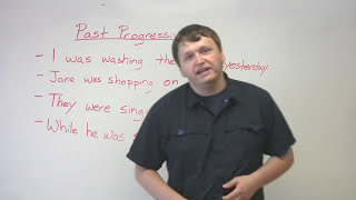 English Grammar - Past Progressive