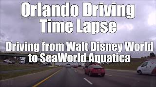 Time lapse driving video from Walt Disney World to SeaWorld Aquatica.The video begins on Interstate 4 (Eastbound), goes through Walt Disney World and passes Disney Springs all the way to SeaWorld Aquatica on International Dr. Filmed in June 2017. Theme Park videos from all of Florida's theme parks on my channel: http://youtube.com/popsong1 Subscribe to my YouTube channel: http://www.youtube.com/subscription_center?add_user=popsong12nd Channel: http://youtube.com/iThemeParkTwitter http://twitter.com/iThemeParkFacebook http://facebook.com/iThemePark