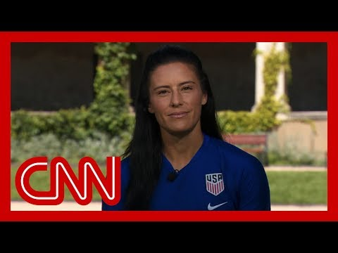 US women's soccer player: I refuse to respect Trump