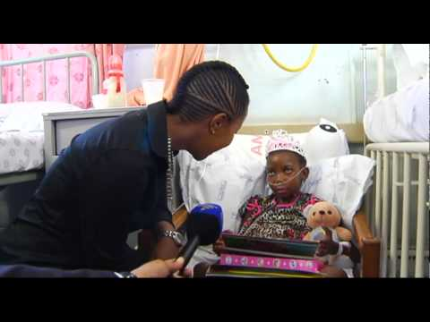 A little girls dream came true on Mandela Day