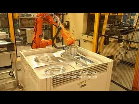 APEX Press Tending Robot