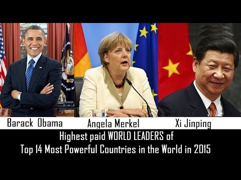 Top 14 Highest paid WORLD LEADERS of 2016