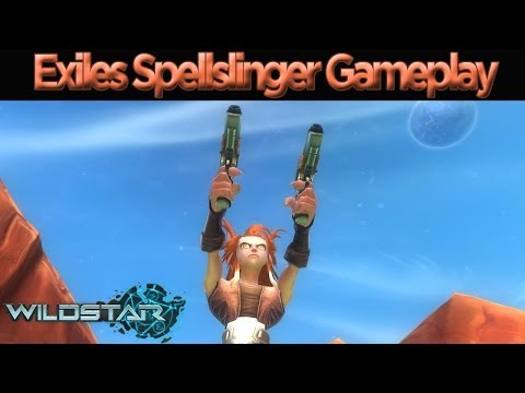 WildStar – Level 1-3 Spellslinger Gameplay Episode 1