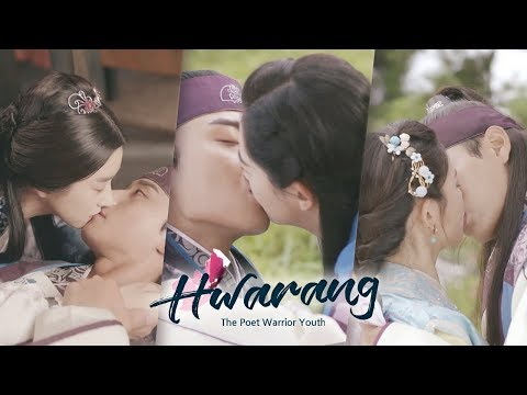 "The Main Characters in the Drama ""Hwarang"" Are All Kissing Master..♥"