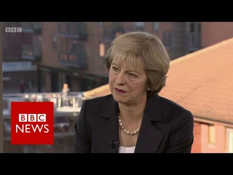 Theresa May (FULL)  interview Andrew Marr (02/10/2016) - BBC News