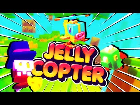 *NEW* GAME FROM MAKERS OF SUBWAY SURFERS! | Jelly Copter Mobile Gameplay (видео)