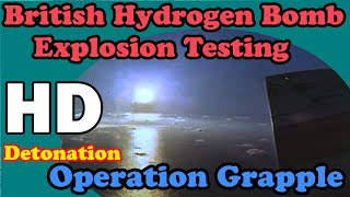 Video HD British Hydrogen bomb explosion test awesome MP3, 3GP, MP4, WEBM, AVI, FLV November 2018