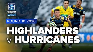 Highlanders v Hurricanes Rd.10 2020 Super rugby Aotearoa video highlights