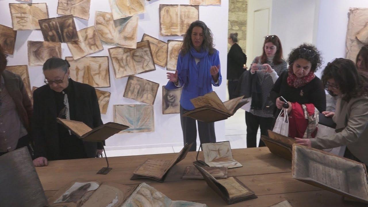 Ξενάγηση στην έκθεση «Εργα πέρα από τις γραφές του Καβάφη», στην Γεννάδειο Βιβλιοθήκη