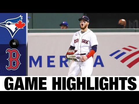 Alex Verdugo's two HRs lift Red Sox to win   Blue Jays-Red Sox Game Highlights 8/7/20