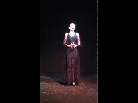 leacappelli - 17-year old Lea Cappelli singing L'abbandono by Vincenzo Bellini on 10/26/2012.