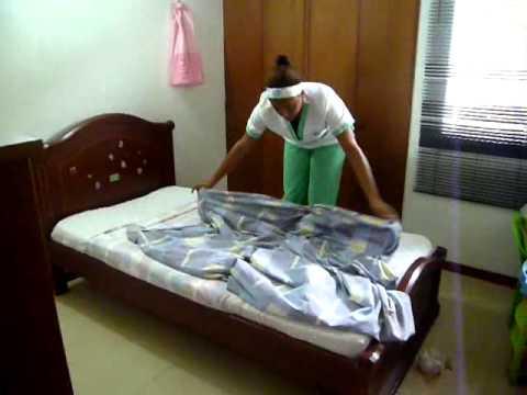Tendido de cama Cama - Tendido De Cama Abierta.
