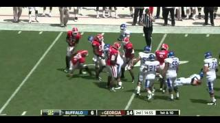 Cornelius Washington vs Buffalo (2012)