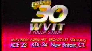 WVIT 30 New Britain CT  1985  Sign Off