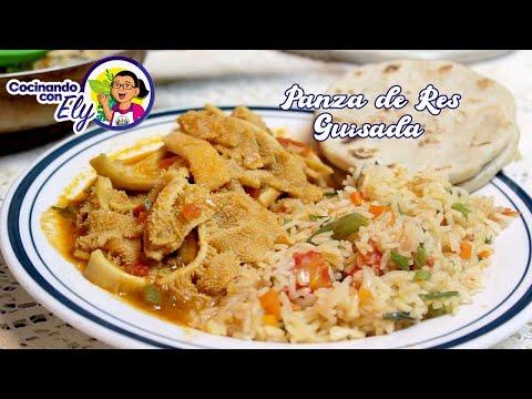 Preparando una Deliciosa TRIPA o PANZA DE RES GUISADA