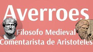 Brevisimo repaso por el pensamiento de Averroes, el mas grande comentarista de Aristoteles y a través del cual conocemos su obra. Fue un gran sabio del mundo árabe medieval nacido en la España musulmana.