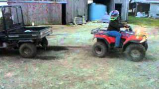 8. Mule vs 4x4 fourwheeler