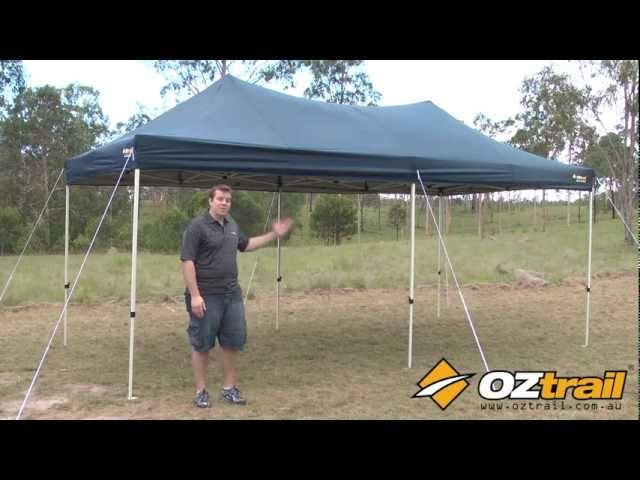 OZtrail Deluxe Pavilion Features