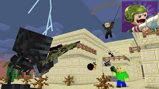 Monster School: Zombs Royale With Baldi's,Jason,Momo - Minecraft Animation