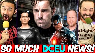 BEN AFFLECK RETURNING AS BATMAN? Ray Fisher Accuses Joss Whedon Of Abusive Behavior... AND SUPERMAN! by The Reel Rejects