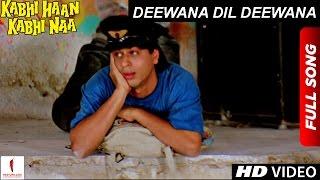 Nonton Deewana Dil Deewana   Hd   Full Song  Kabhi Haan Kabhi Naa   Shah Rukh Khan  Suchitra Krishnamurthy Film Subtitle Indonesia Streaming Movie Download