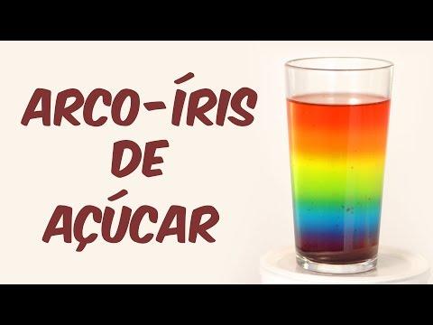 Beba um arco-íris
