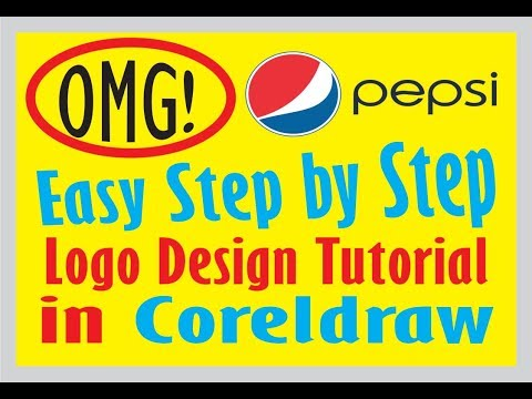 New Pepsi Logo Design In Coreldraw # Amazing Tricks