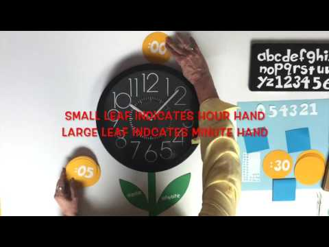 1 Minute Lesson Plan: Sunflower Clock
