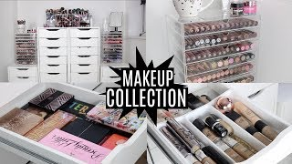 Video MAKEUP COLLECTION AND STORAGE 2017 | FAVE MAKEUP AND BRUSHES INCLUDED MP3, 3GP, MP4, WEBM, AVI, FLV Januari 2018
