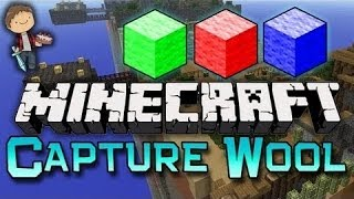 Minecraft: Capture the Wool TWO VERSUS ONE w/Mitch&Friends! (Nexus Mini-Game Mod)