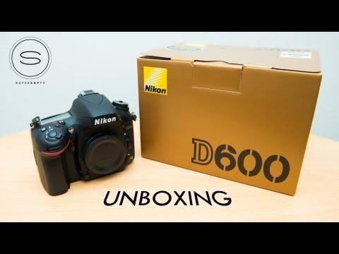 Nikon D600 Unboxing