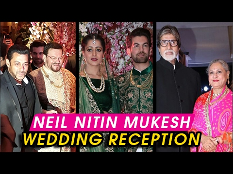 Neil Nitin Mukesh And Rukmini Sahay Wedding Recept