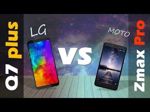 LG Q 7 plus VS ZTE Zmax Pro  -  metro PCS
