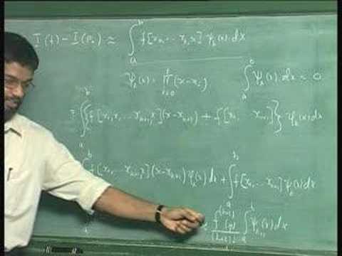 Lecture 27 - Numerische Integration - Grundregeln