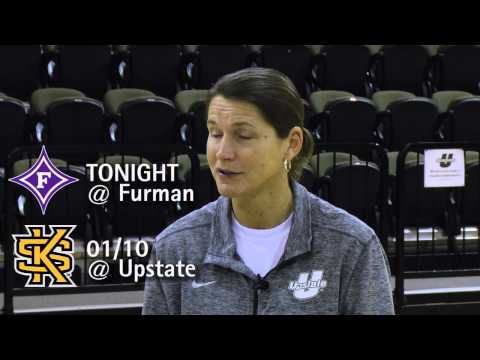 Center Court: Upstate Basketball Insider - Episode 8 - Jan. 7, 2015
