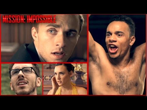 Natoo, Mister V, Squeezie & Kemar en mode MISSION IMPOSSIBLE