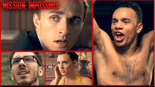 Mission: Impossible VS Mission: Pas Possible (Natoo, Kemar,  Mister V,  Squeezie)