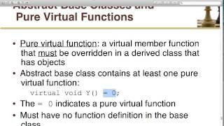 Object-Oriented Programming In C++ - Lecture 17