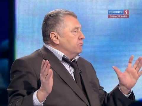 Выборы 2012. Дебаты. Жириновский — Путин (Мохначев) 1 марта