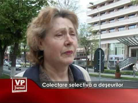 Colectare selectivă a deşeurilor