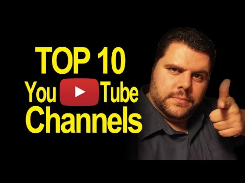 Top 10 Youtube Channels By Vision All Access