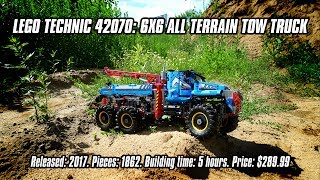 Nonton Lego Technic 42070  6x6 All Terrain Tow Truck In Depth Review   Speed Build  4k  Film Subtitle Indonesia Streaming Movie Download