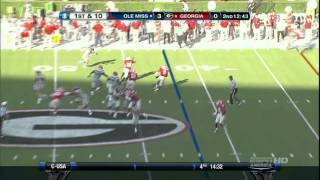 Alec Ogletree vs Ole Miss (2012)