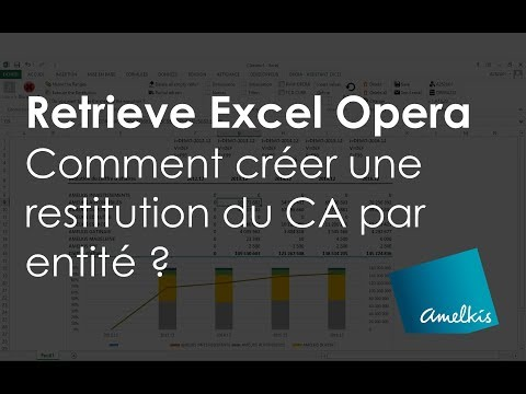 Recover Excel Opera, how to create a restitution of CA per entity?