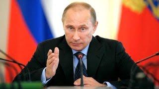 Владимир Путин в Усть-Каменогорске