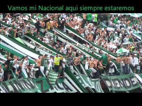 Nacional 2 - Cali 1 Canticos Los Del Sur - Los del Sur - Atlético Nacional