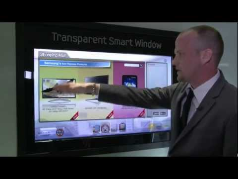 CES 2012 - Samsung's Transparent Window got a lot of attention at the 2012 Consumer Electronics Show in Las Vegas. Watch this video to find out why!