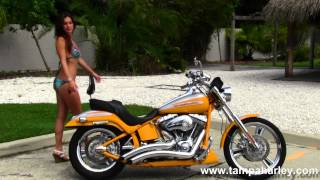 5. Used 2004 Harley-Davidson CVO Softail Deuce Motorcycle for sale